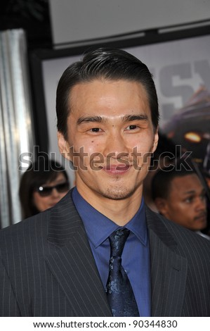 "Karl Yune at the Los Angeles premiere of his new movie ""Real Steel"" at Universal Studios Hollywood. October 2, 2011  Los Angeles, CA Picture: Paul Smith / Featureflash"