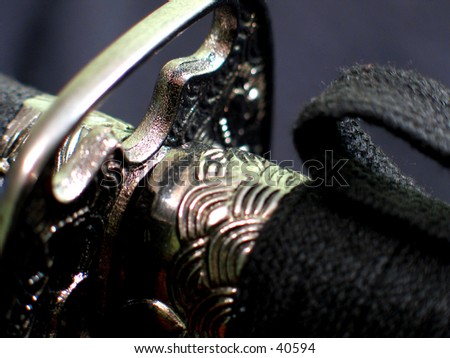 Katana/ Japanese Sword - stock photo