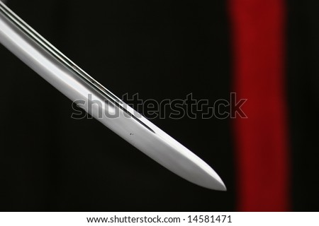 katana sword - stock photo