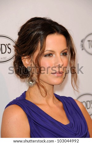 Kate Beckinsale at the Tod's Beverly Hills Boutique Opening Celebration, Tod's Boutique, Beverly Hills, CA. 04-15-10 - stock photo