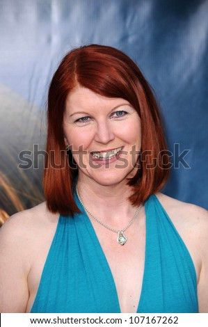 "Kate Flannery  at the Los Angeles Premiere of ""Pineapple Express"". Mann Village Theater, Westwood, CA. 07-31-08"