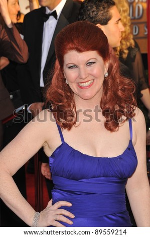 Kate Flannery at the 16th Annual Screen Actors Guild Awards at the Shrine Auditorium. January 23, 2010  Los Angeles, CA Picture: Paul Smith / Featureflash