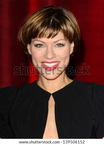 Kate Silverton arriving for the British Soap Awards 2013, at Media City, Manchester. 18/05/2013