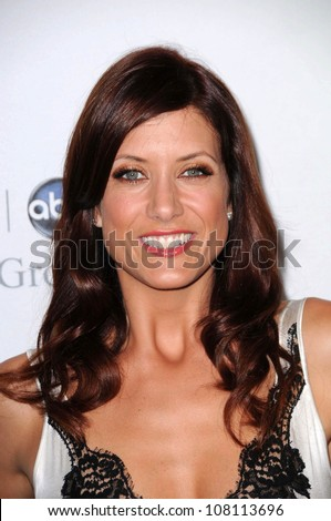 """Kate Walsh at Disney and ABC's """"TCA All Star Party"""". Beverly Hilton Hotel, Beverly Hills, CA. 07-17-08 - stock photo"""