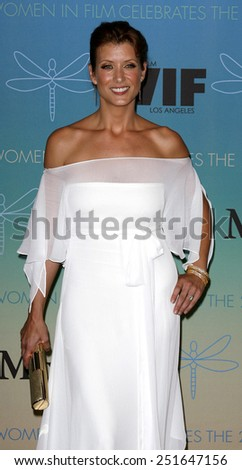 Kate Walsh attends Women In Film Presents The 2007 Crystal and Lucy Awards held at the Beverly Hilton Hotel in Beverly Hills, California, California, on June 14, 2006. - stock photo
