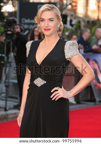 Kate Winslet arriving for the Titanic 3D film premiere, Royal Albert Hall, London. 27/03/2012 Picture by: Alexandra Glen / Featureflash - stock photo