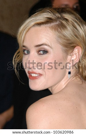 Kate Winslet  at the 67th Annual Golden Globe Awards Press Room, Beverly Hilton Hotel, Beverly Hills, CA. 01-17-10 - stock photo