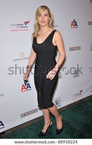 Kate Winslet at the US-Ireland Alliance Oscar Wilde Gala honoring the Irish in Film, at the Ebell Club, Los Angeles. February 19, 2009  Los Angeles, CA Picture: Paul Smith / Featureflash - stock photo