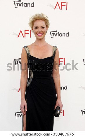 Katherine Heigl at the AFI Life Achievement Award Honoring Shirley MacLaine held at the Sony Studios in Los Angeles, USA on June 7, 2012. - stock photo