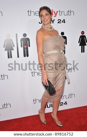"Katherine Heigl at the premiere of her new movie ""The Ugly Truth"" at the Cinerama Dome, Hollywood. July 16, 2009  Los Angeles, CA Picture: Paul Smith / Featureflash"