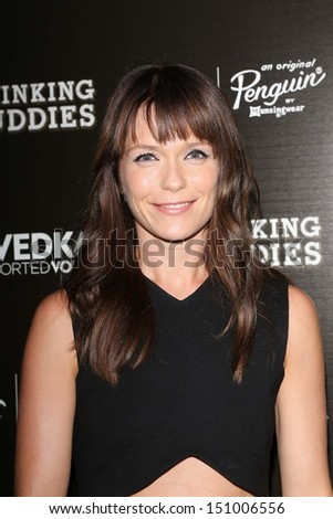 "Katie Aselton at the ""Drinking Buddies"" Los Angeles Screening, Arclight, Hollywood, CA 08-15-13"