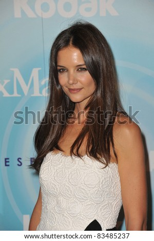Katie Holmes at the Women in Film 2011 Crystal + Lucy Awards at the Beverly Hilton Hotel. June 16, 2011  Beverly Hills, CA Picture: Paul Smith / Featureflash