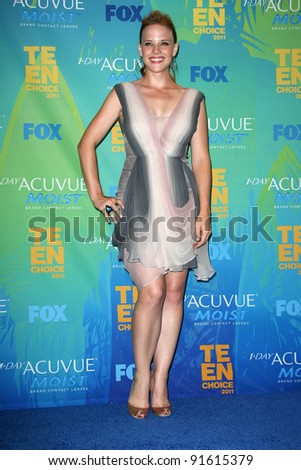 Katie Leclerc at the 2011 Teen Choice Awards, Universal Amphitheater, Universal City, CA. 08-07-11