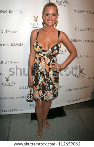 Katie Lohmann at the reception for the launch of The Playboy Legacy Collection. Celebrity Vault, Beverly Hills, CA. 07-19-07