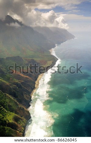 Kauai, Hawaii - stock photo