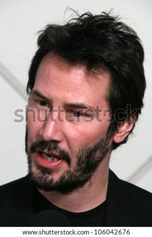 "Keanu Reeves   at Science and Hollywood Unite at Caltech featuring a screening of the new film ""The Day The Earth Stood Still,"" Caltech, Pasadena, CA. 12-05-08"