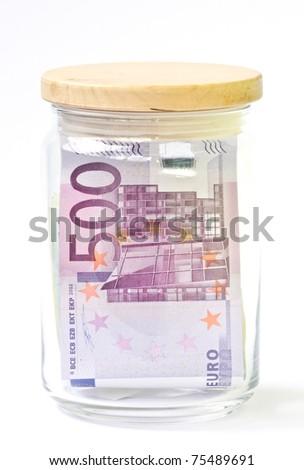 Keep money concept - stock photo