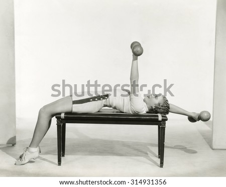Keeping in shape - stock photo