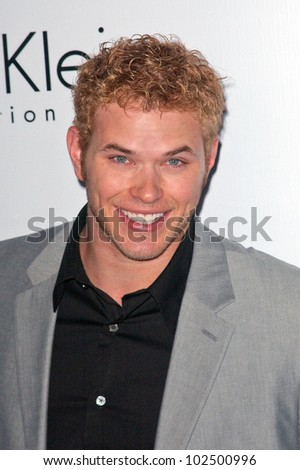 Kellan Lutz at the Calvin Klein Collection Party to Celebrate LA Arts Month, Calvin Klein Store, Los Angeles, CA. 01-28-10