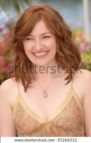 "Kelly MacDonald at photocall for her movie ""No Country for Old Men"" at the 60th Annual International Film Festival de Cannes.  May 19, 2007  Cannes, France.  2007 Paul Smith / Featureflash - stock photo"