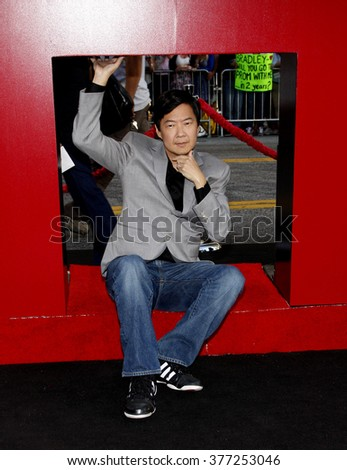 Ken Jeong at the Los Angeles premiere of 'The Hangover Part II' held at the Grauman's Chinese Theatre in Hollywood, USA on May 19, 2011.