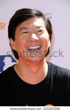 Ken Jeong at the 2010 Stand Up To Cancer, Sony Studios, Culver City, CA. 09-10-10