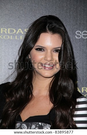 Kendall Jenner at the Kardashian Kollection Launch for Sears, The Colony, Hollywood, CA. 08-17-11