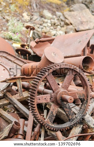 Kennicott's Waste - stock photo