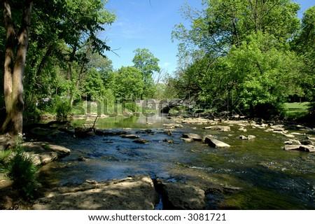 Kentucky Creek - stock photo