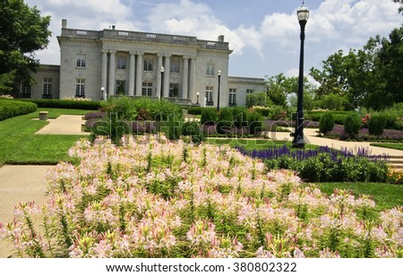 Kentucky Governor's Mansion in Frankfort - stock photo