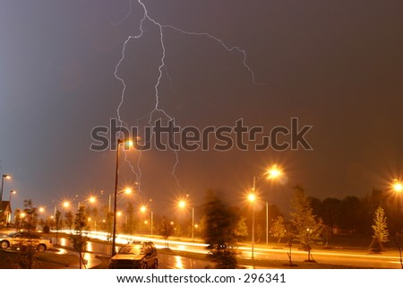 Kentucky Storm - stock photo