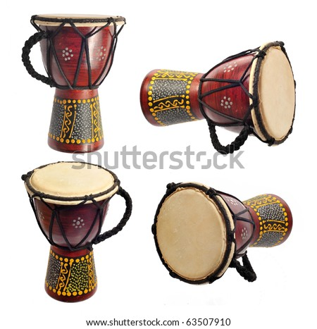 Kenyan drum - stock photo
