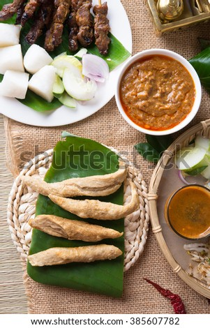 Keropok Lekor, is a Malaysian food that is a favourite snack especially in the east coast of the Malaysian Peninsula.