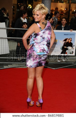 "Kerry Katona arrives for the ""Larry Crowne"" premiere at Westfield, Shepherd's Bush, London. 06/06/2011  Picture by: Alexandra Glen / Featureflash"