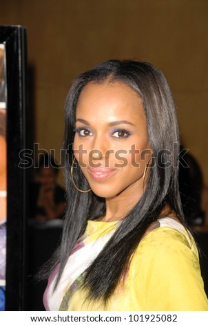 """Kerry Washington at the Los Angeles Premiere of """"Mother and Child,"""" Egyptian Theater, Hollywood, CA. 04-19-10 - stock photo"""