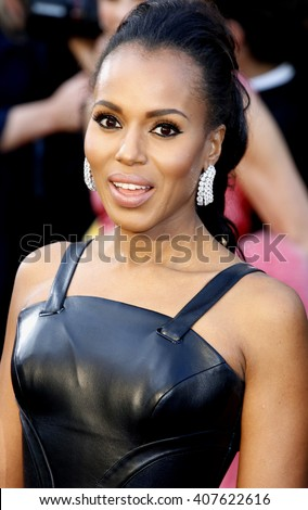 Kerry Washington at the 88th Annual Academy Awards held at the Dolby Theatre in Hollywood, USA on February 28, 2016. - stock photo