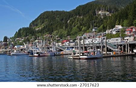 Ketchikan Alaska - stock photo