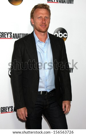 "Kevin McKidd at the ""Grey's Anatomy"" 200th Episode Red Carpet Event, Colony, Hollywood, CA 09-28-13"