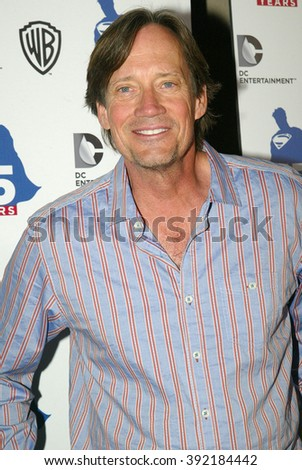Kevin Sorbo arrives at the DC Entertainment and Warner Bros.Superman 75th anniversary party during San Diego Comic-Con at the Hard Rock Hotel San Diego's Float Bar on July 19, 2013 in San Diego, CA.