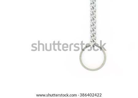 key chain safety key home or car and key other - stock photo