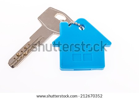 key for house - stock photo