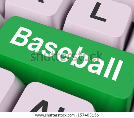 Key On Keyboard Meaning Game Played with Bat Ball