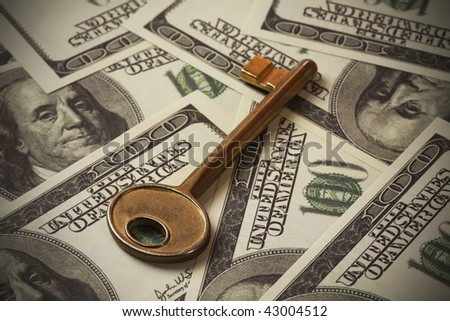 Key to Financial Success - stock photo