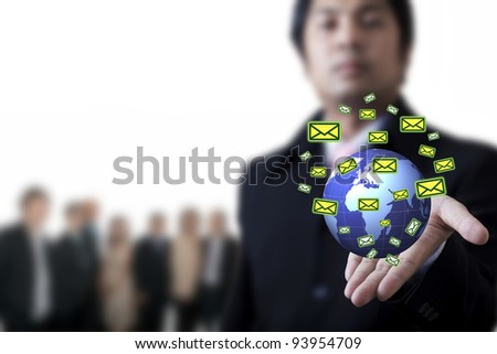 key to success for business - stock photo
