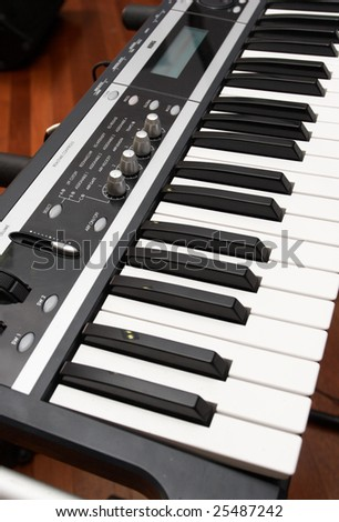 Keyboard musical instrument.