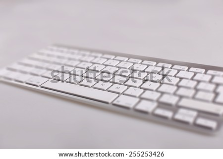 keyboard - stock image