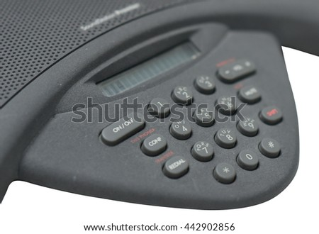 Keypad of the IP conference phone