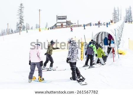 Keystone Ski Season End Ski Resort at The End Keystone