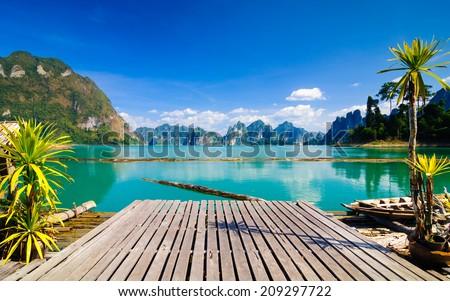 Khao Sok National Park, Surat Thani, Thailand - stock photo