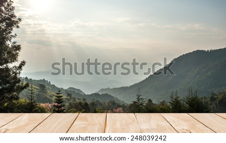 Khun Wang Park is a popular tourist destinations in Thailand. - stock photo